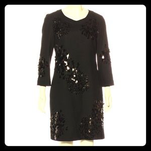 Tory Burch Sequin Wool Shift Dress